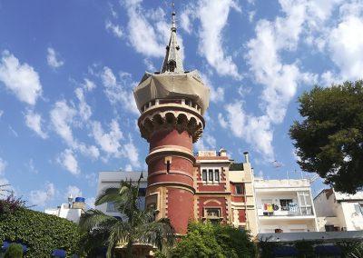Ruta de les cases dels Americanos a Sitges