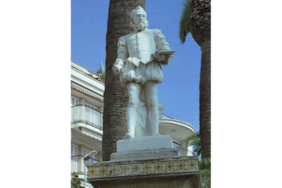 Sitges-Monument-al-Greco-detall