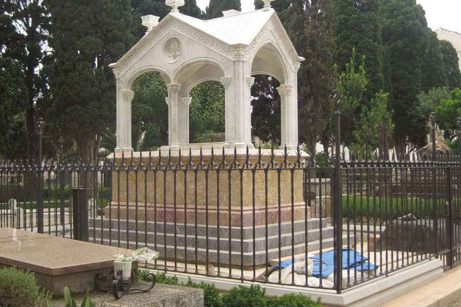 visita singular cementerio