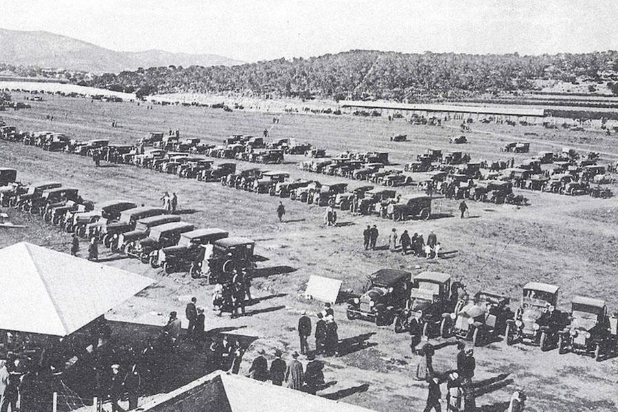 Autodromo foto antigua